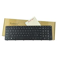 Eathtek Replacement Keyboard With Frame For HP 15-d010c