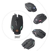 Maxin M2 2500 DPI LED Optical USB Wired Gaming Mouse Mi