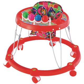 Ehomekart Red Sunny Round Walker for Kids