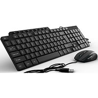 OfficeTec Wired Keyboard And Mouse Combo (KB202)