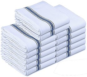 Shop By Rooms Floor Cloth & Dusters Wet Dry Cotton Cleaning Cloth / Mop 20 x 20 inch (Pack of 12)