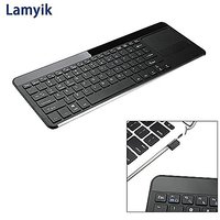 Lamyik 2.4Ghz Wireless Keyboard With 3-inch Large Touch