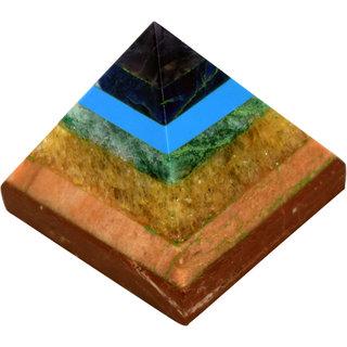 Hand Crafted Seven Chakra Pyramid