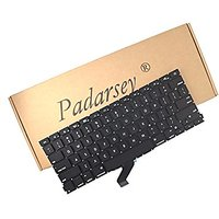 Padarsey US Replacement Keyboard For 13-Inch MacBook Pr