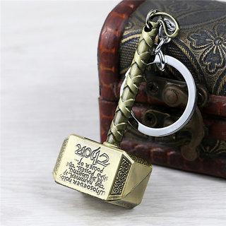 thor hammer keychain thor metal keychain thor golden keychain buy