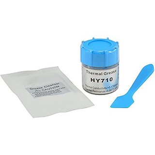 Halnziye HY710 10g Silver Thermal Paste High Performance Heatsink Compound for CPU GPU LED available at ShopClues for Rs.1048