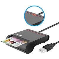 USB Smart Card Reader - Rocketek DOD Military USB Commo