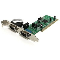 StarTech.com 2 Port PCI RS422/485 Serial Adapter Card W