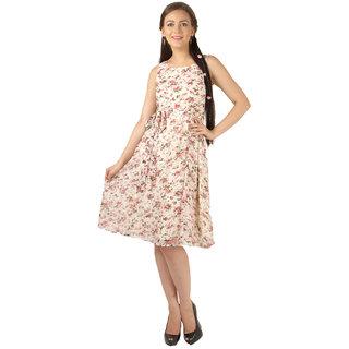 Magnetic Designs Floral Printed Midi Dress