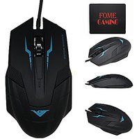 USB Wired Gaming Mouse,FOME GAMING 1600 DPI High Precis