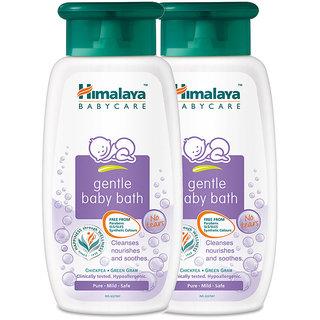 Himalaya Gentle Baby Bath 100 Ml (Pack Of 2)