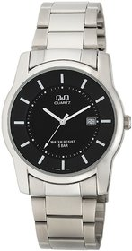 QQ Standard Analog Black Dial Men's Watch - A438J202Y