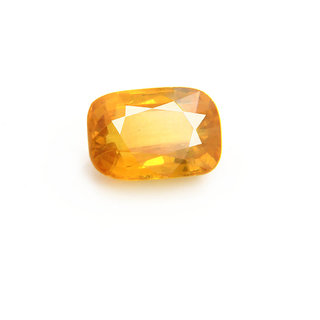 Ratna Gemstone  4.50 Carat Natural Certified Yellow Sapphire (Pukhraj) Gemstone