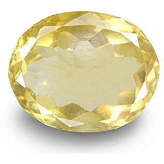 Ratna Gemstone 6.50 Carat Citrine (Sunela Stone)