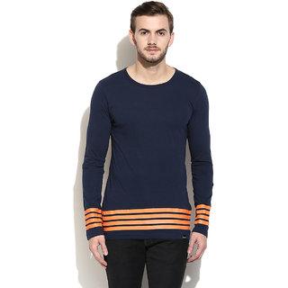 c39a4e058 Buy Rigo Men s Navy Round Neck T-shirt Online - Get 55% Off