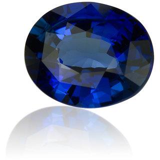 Ratna Gemstone 7.00 Carat Natural Certified Blue Sapphire (Neelam Stone) Gemstone