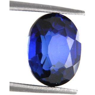 Ratna Gemstone 8.25 Carat Natural Certified Blue Sapphire (Neelam Stone) Gemstone
