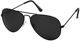 V.S Black Aviator Sunglasses