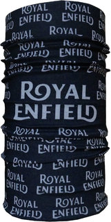 Royal En field Printed Bandana Black -038 by URBANKART