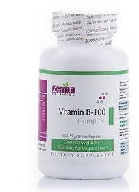 Zenith Nutrition Vitamin B-100 Complex - 100 Capsules