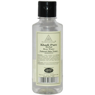 Khadi Pure Herbal Rose Water - 210ml