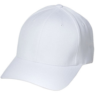Hdecorative Attractive White Cap(Pack of 1)(WCAP)