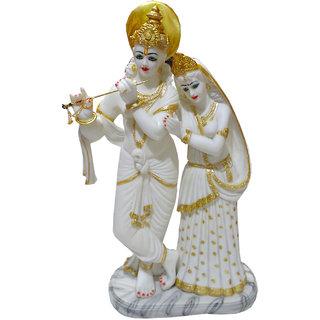 Paras Magic White Radha Krishna Idol