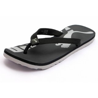 aba90684ca65 199 baabf bbb3c  low price puma unisex black grey slippers 63dd0 f0935