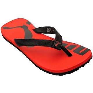 Buy Puma Men s Red and Black Slippers Online - Get 48% Off 543a9d2ba