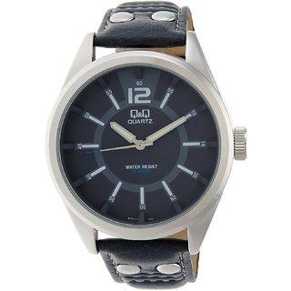 QQ Standard Analog Blue Dial Men's Watch - Q736J312Y