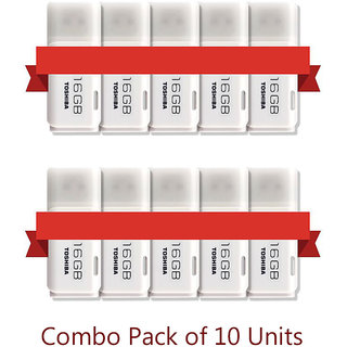 (Pack of 10) Toshiba 16GB Pendrive