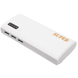 Orenics 3 USB Port with Percentage Indicator 20000 mah (white)