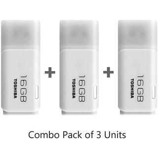 Toshiba 16GB Pen Drive(Pack of 3)