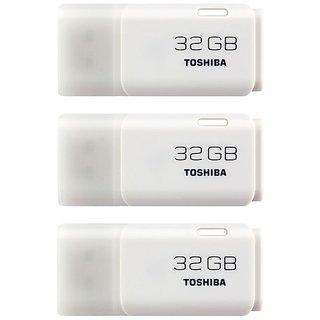 Toshiba 32GB Pen Drive(Pack of 3)
