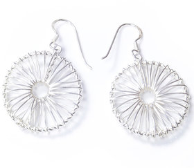 Verra Chakra Sterling Silver Earrings