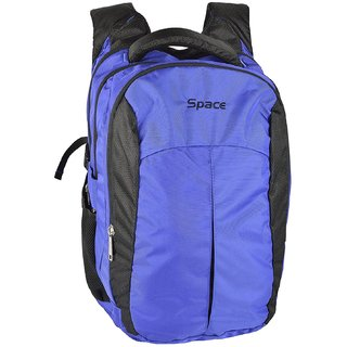 Buy Space Polyester 35 liters Blue Laptop Backpack Online   ₹1495 ... 9a72138d404ee