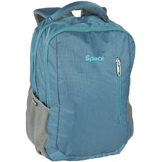 4a84ac63aeb8 Buy Space Polyester 35 liters Blue Laptop Backpack Online - Get 0% Off