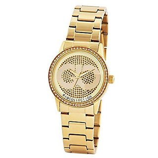 Gio Collection Quartz Gold Dial Women Watch-G2003-22