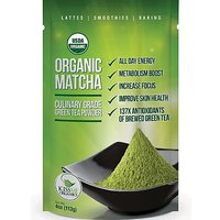 Matcha Green Tea Powder - ORGANIC - All Day Energy - Green Tea Lattes -