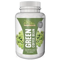 Pure Green Coffee Bean Extract 800 With GCA Natural Wight Loss Supplement As