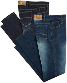 Black Bee Stylish Jeans For Men (Set of 2)