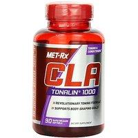 MET-Rx CLA-Tonalin 1000 Diet Supplement Capsules, 90 Count