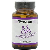 Twinlab B-2 Caps 100mg, 100 Capsules (Pack Of 4)