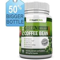 Green Coffee Bean Extract With GCA, 800mg Per Capsule, 90 Vegetarian Capsules