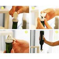 Wine Bottle Airtight Stopper Seal Cork Seal Magical Expanded Bottle Lid 3pcsSET