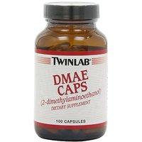 Twinlab DMAE Caps 100mg, 100 Capsules (Pack Of 3)