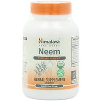Himalaya Pure Herbs Neem, Systemic Purifier, 60 Caplets, (Pack Of 2)
