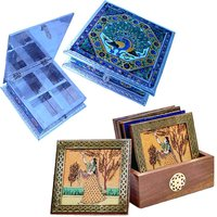 UFC Mart Buy Meenakari Dryfruit Box N Get Tea Coasters Free