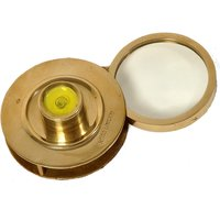 UFC Mart Real Brass Round Shape Golden Magnifying Glass