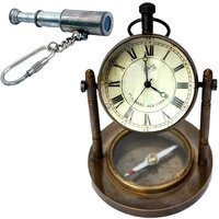 UFC Mart Buy Clock Compass N Get Telescope Key Chain Free